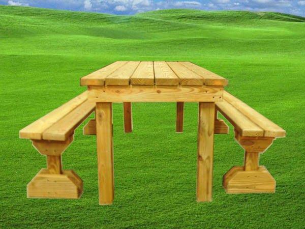 [尚霖木作工程館]手作南方松原木6尺野餐桌/啤酒桌