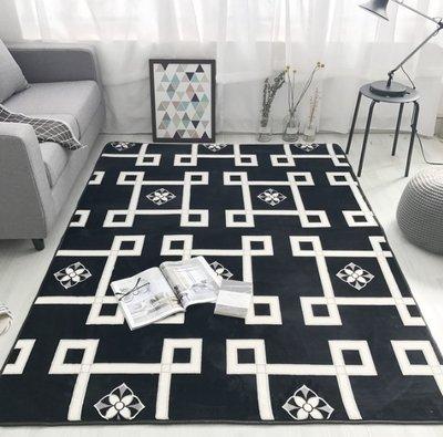 新品北歐簡約風地墊法蘭絨地毯瑜伽墊遊戲...
