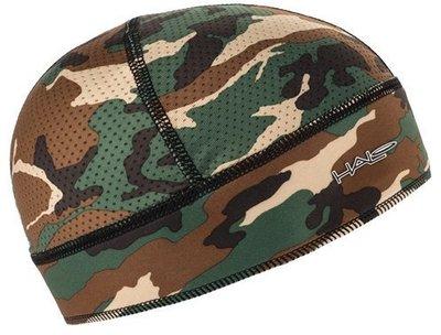 汗樂 導汗帶(迷彩綠套頭式頭罩),擺脫夏天安全帽的悶熱, 無視汗擾.Camo Halo Skull Cap