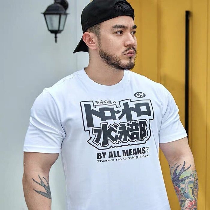 【OTOKO Men's Boutique】Hansbenny 水泳部/ T恤/白色/正版(台灣獨家代理)