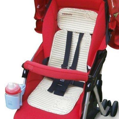 推車涼蓆夏季新生兒寶寶童車亞麻竹炭草蓆坐墊嬰兒車涼蓆