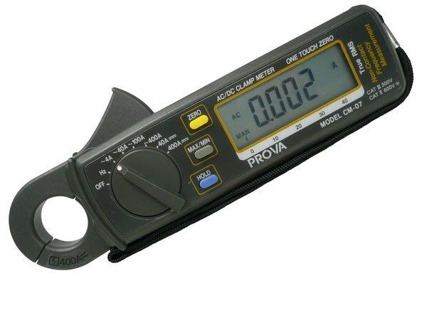 TECPEL 泰菱 》泰仕 TES CM-07 真均方根值低電流鉤錶 交直流勾表 鉤表 低電流 MIT