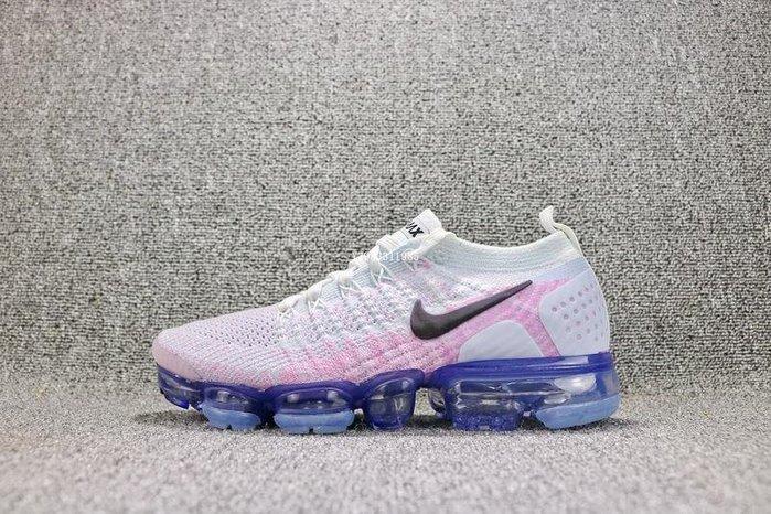 Nike Air VaporMax Flyknit 白粉 經典 編織 氣墊 慢跑鞋 女鞋 942843-102
