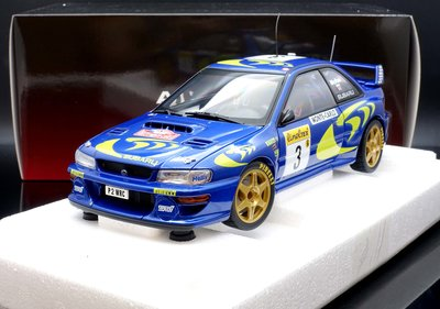 【M.A.S.H】原廠出清特價Autoart 1/18 SUBARU IMPREZA WRC 1997 #3 蒙地卡羅