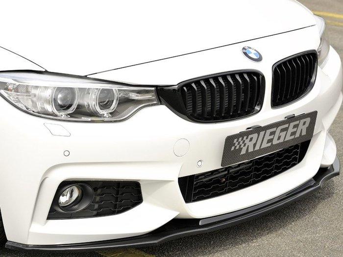 【樂駒】RIEGER BMW F32 F33 F36 LCI M Series front splitter 前下擾流