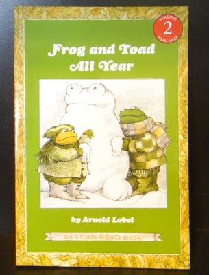【童書】【英繪】I Can Read ! L2 frog and toad all year by Arnold Lob