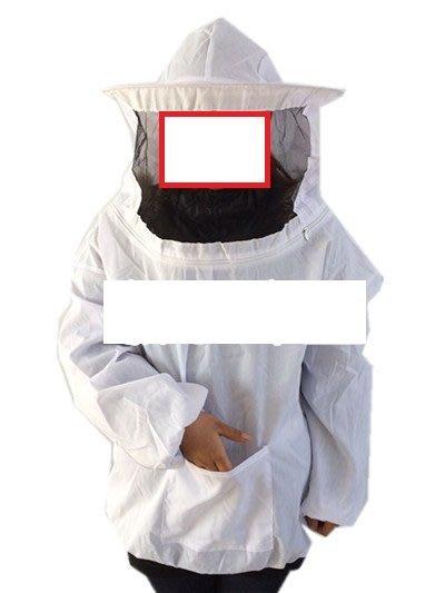 養蜂工具 迷彩蜂衣 蜂帽 蜜蜂防護服 迷彩 白色 防蜂衣服 防蜂衣