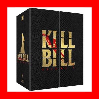 【BD藍光】追殺比爾2:三合一鐵盒限量禮盒版(繁中字幕)Kill Bill 2黑色追緝令橫行霸道導演