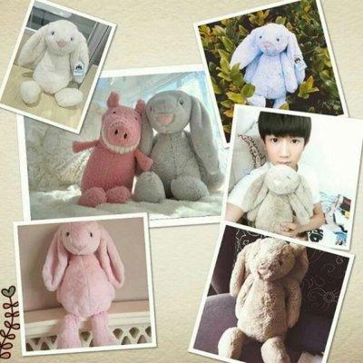 母親節優惠~英國原單外貿J牌同款邦妮兔~安撫兔~療癒娃娃公仔~現貨供應~兒童節最佳禮物
