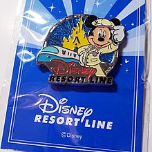 Disney Pin 東京迪士尼樂園 迪士尼線限定特典徽章 - 米奇