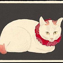 現代新款圖3裝飾畫日本浮世繪貓的生活復古懷舊日料店酒吧