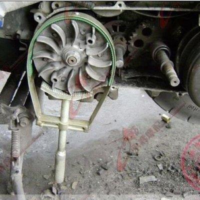 阿里家 摩托車飛輪扳手 普利盤離合器拆卸工具 踏板車皮帶盤磁電機固定卡