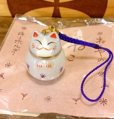 日本道樂堂貓舍本鋪貓咪手機吊飾:日本 道樂堂 貓舍本鋪 貓咪 手機鏈 吊飾 陶瓷 3C周邊 設計 收藏 禮品