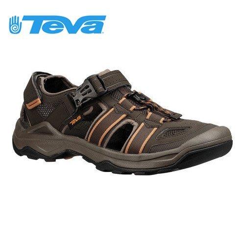 丹大戶外【TEVA】Omnium 2 戶外謢趾水陸運動涼鞋 TV1019180BLKO 橄欖綠
