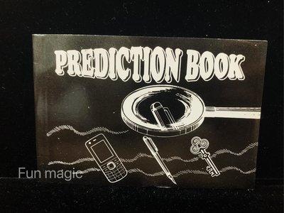[fun magic] 預言書 prediction book 預言魔術 心靈感應 心靈魔術 把妹魔術