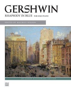 【599免運費】Gershwin: Rhapsody in Blue (Solo)  Alfred 00-29033
