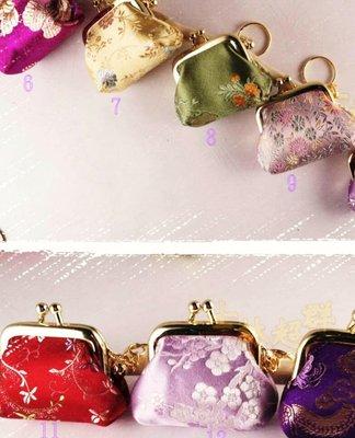 【士林超群】結婚小禮.鑰匙圈零錢包.生日禮物.中國風.台灣手工.客家花布.油桐花