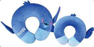 正版授權 Disney迪士尼星際寶貝頸枕 大號史迪U型枕頭 娃娃公仔 玩偶杯麵 毛怪 屁桃小小兵 泰迪熊 奇奇蒂蒂豆豆熊