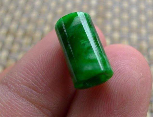 【福寶堂】天然翡翠A貨干青路路通吊墜老坑滿綠陽綠轉運珠項鏈綠桶珠男女款