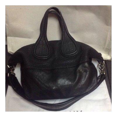 (二手品) 真品 Givenchy Nightingale Bag Black Handbag有卡有塵袋有單