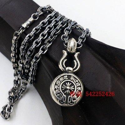 私家收藏權志龍羅志祥吳亦凡周揚青雪梨同款泰銀925純銀十字雙面牌項鍊