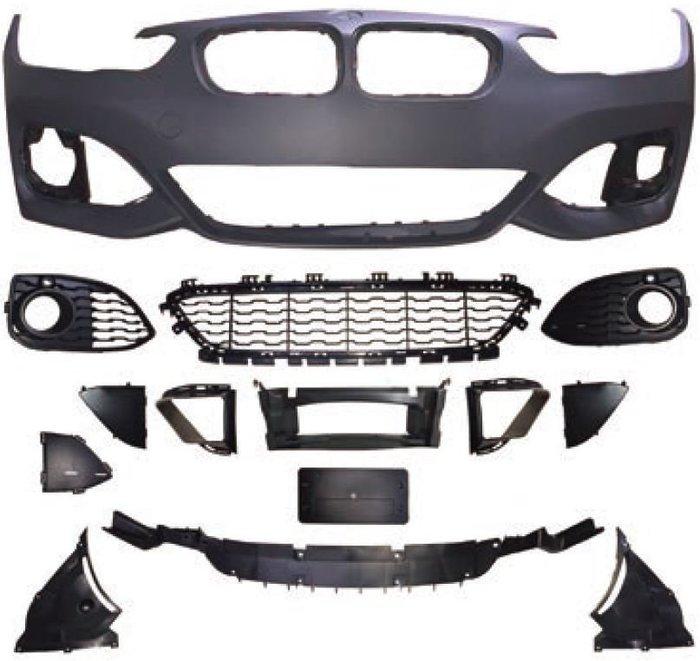 【SD祥登汽車】 For BMW F20 LCI(小改款) M-Tech 全車保桿 (前+後+左右) 大包 素材 烤漆