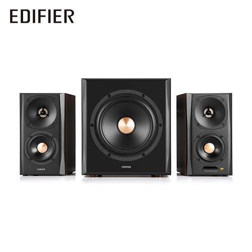 可自取 視聽影訊 公司貨附保卡 送高級音源線  Edifier S360D 漫步者 2.1藍芽喇叭 另c3xd