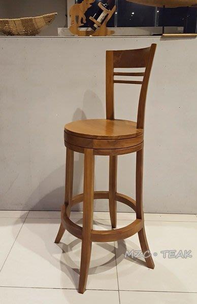 【美日晟柚木家具】CH 22 柚木吧台椅 高腳椅 吧檯椅 柚木椅 餐椅 柚木餐椅(特價7300/售完為止)