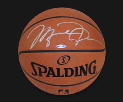 Michael Jordan Signed Spalding Basketball!麥克喬丹簽名球