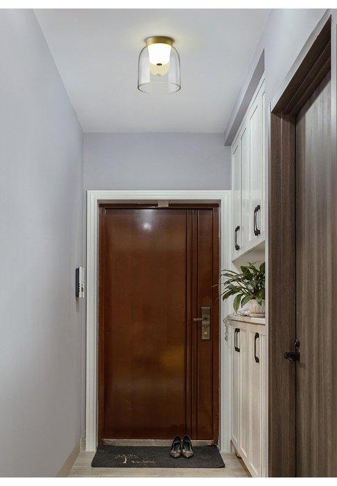 Disc  C款小 燈後現代 輕奢客廳燈 北歐 創意個性 臥室房間 餐廳 吸頂燈 LED 110-220V