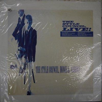 合友唱片 THE STYLE COUNCIL,HOME & ABROAD 黑膠 LP 面交 自取