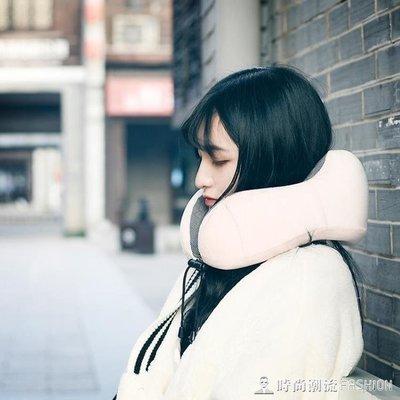 ZIHOPE 記憶棉U型枕便攜旅行飛機枕頭U形護脖子頸椎頸部靠枕可摺疊護頸枕ZI812