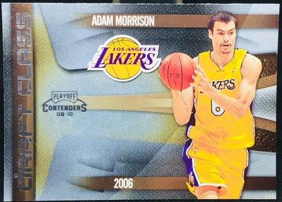 ADAM MORRISON 2009-10 CONTENDERS #2 DRAFT CLASS 特卡
