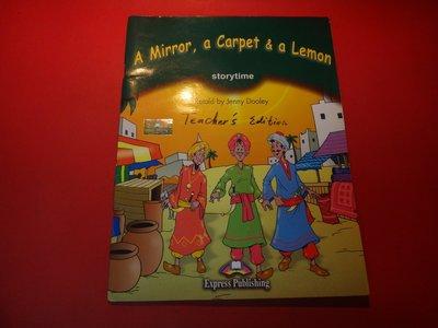 【愛悅二手書坊 02-01】A Mirror,a Carpet & a Lemon Pupil's Book