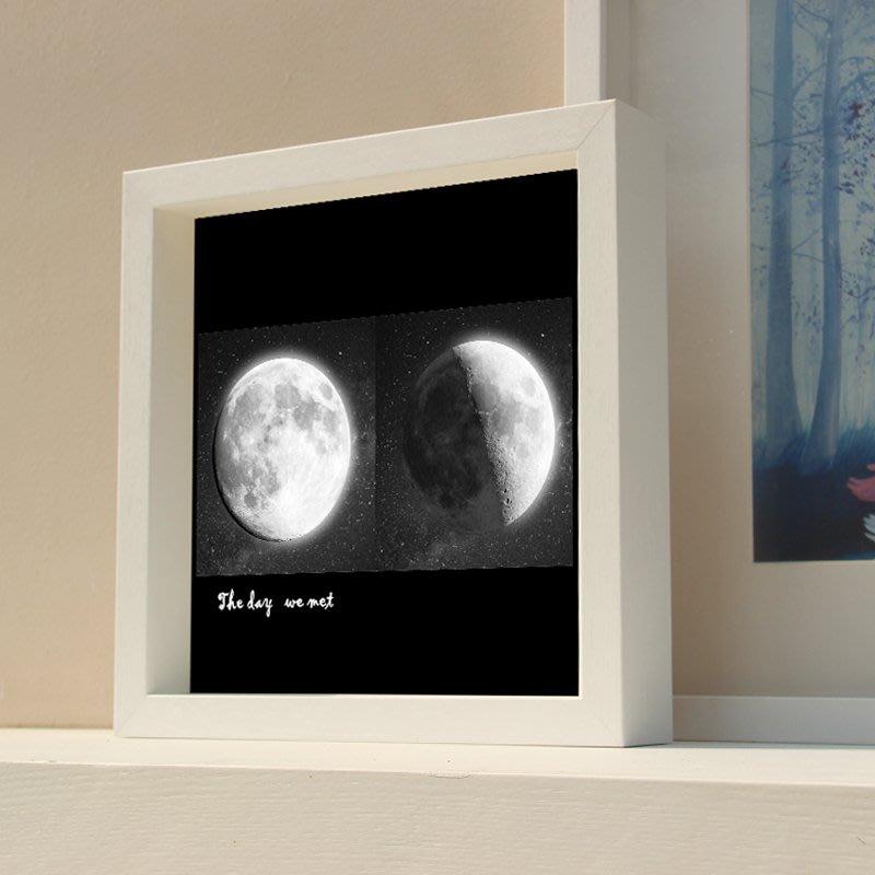 創意簡約立體中空相框手腳印衍紙干花蝴蝶標本16 20寸畫框掛墻相框