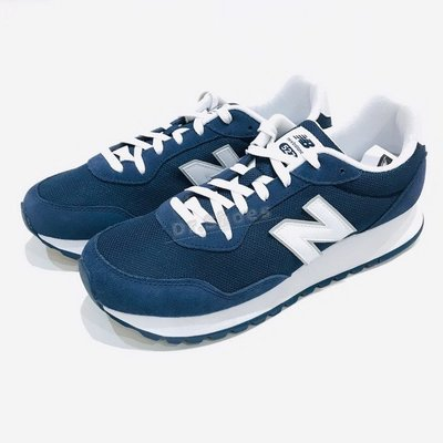 【Dr.Shoes】New Balance NB 527 深藍 白LOGO 麂皮 復古 男 休閒鞋 ML527SMB