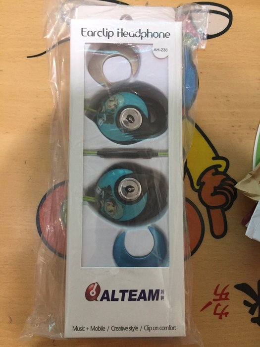 {藤井小舖}ALTEAM AH-238 耳掛式耳機 運動活力派款