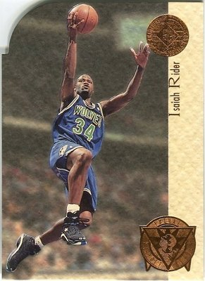 (T)Isaiah Rider Championship Future Playoff Heroes 切割卡