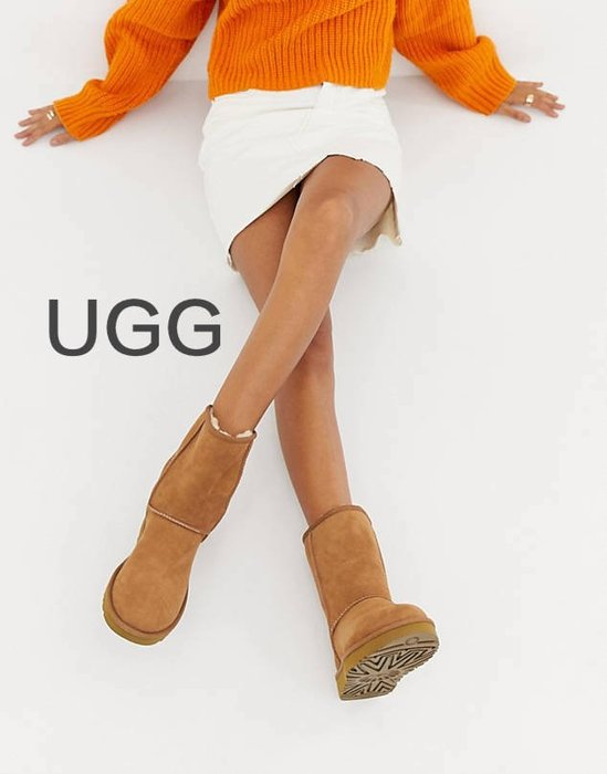 【BJ.GO】UGG Classic Short II Boots 防水絨面革 經典短靴/中筒靴/雪靴