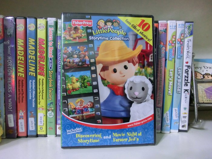 *【英語幼兒教育DVD】小pen~Fisher-Price Little People storytime