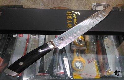 J二手- 日本旬Shun KAJI 大馬士革紋 9吋 片刀 SG-2粉末鋼 高硬度折疊鋼龍紋刀