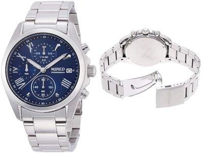 日本正版 SEIKO 精工 WIRED AGAT405 男錶 男用 手錶 日本代購