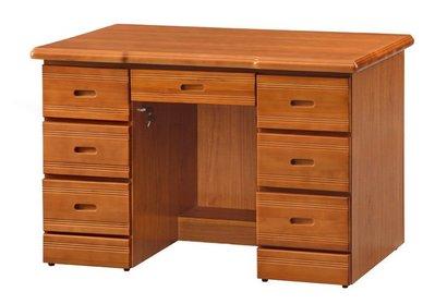 【浪漫滿屋家具】(Gp)555-6 樟木4.2尺辦公桌
