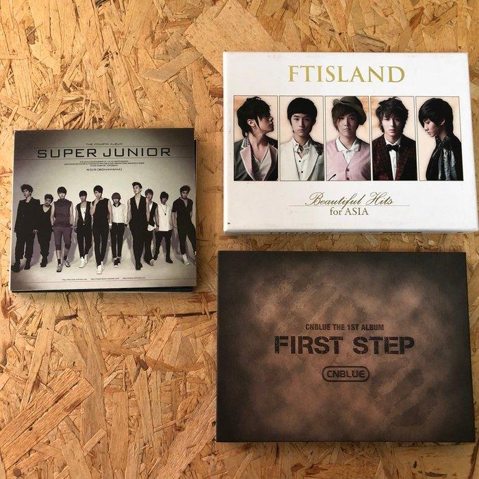 朵拉媽咪【二手】韓語CD 韓流 韓文專輯 SJ BONAMANA CNBLUE first step FTISLAND