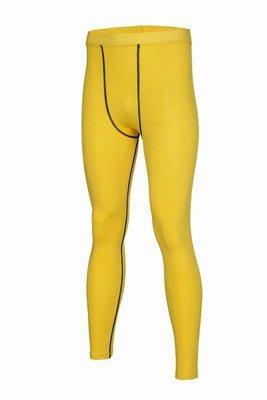黃色長褲 男 女 跑步 健身 瑜珈 籃球 壓縮褲 緊身褲 束褲 內搭褲 跑步壓縮褲 籃球緊身褲 2XU CW-X 可參考 台中市