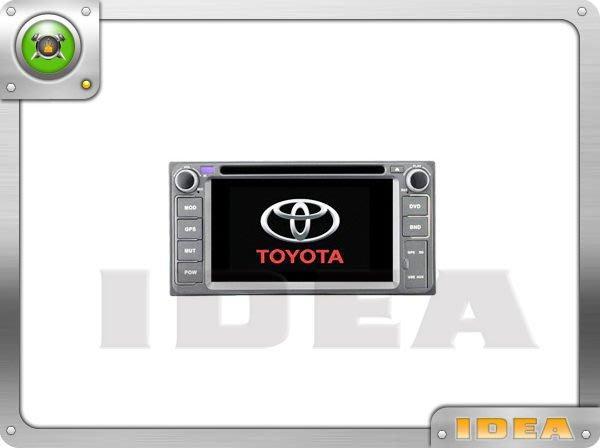 泰山美研社A601 TOYOTA。WISH專用75系列三合一DVD螢幕主機內建導航USB.SD方控
