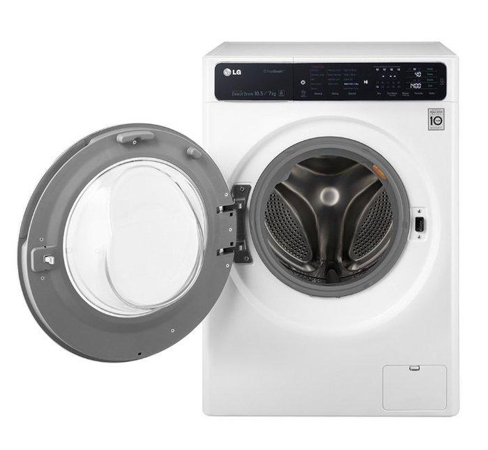 【快速潔家電生活服務】LG滾筒式洗衣機 10.5公斤 F1450HT1W