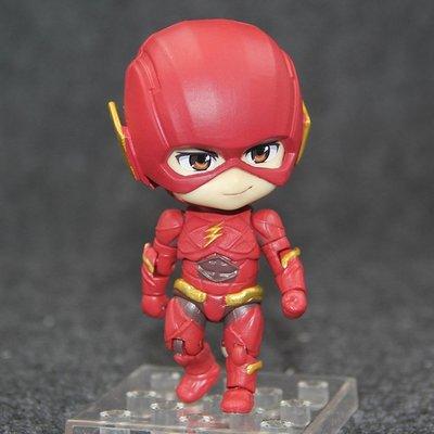 【紫色風鈴3.3】正義聯盟超級英雄Q版黏土The Flash 917閃電俠可動 港版