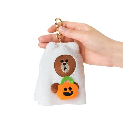 全新 韓國直購 LINE FRIENDS 12CM Halloween 萬聖節版 Brown 熊大 公仔鎖匙扣 正品 預購(可旺角門市交收)#預購貨品請先入數