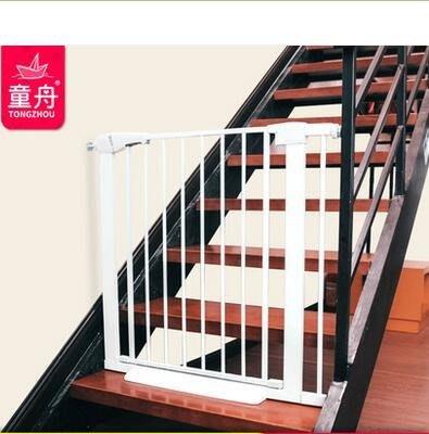 童舟嬰兒童安全門欄樓梯護欄防護欄寵物門欄狗柵欄門護欄門狗圍欄  NMS